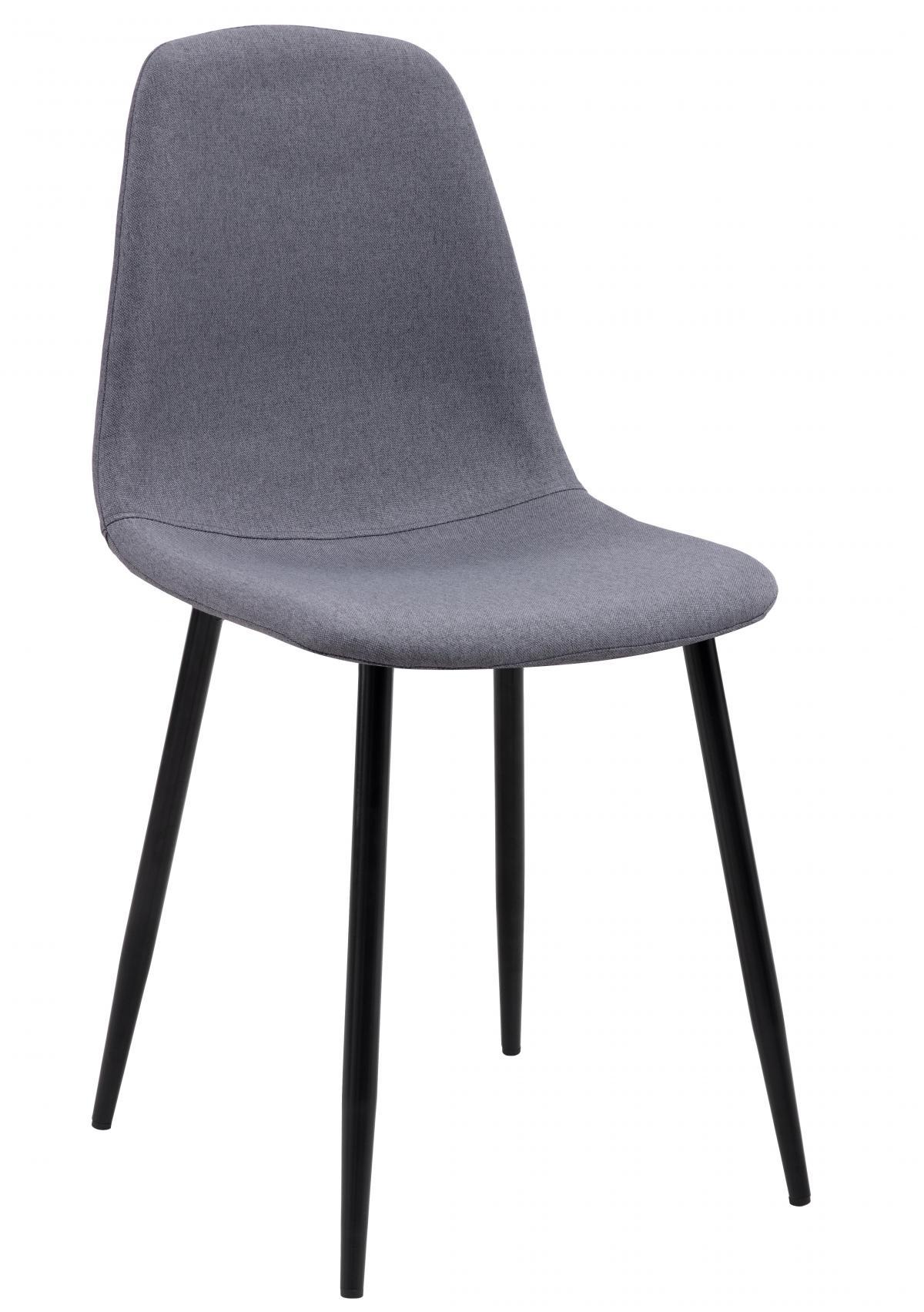 כסא לפינת אוכל דגם SOLNA בד אריג אפור