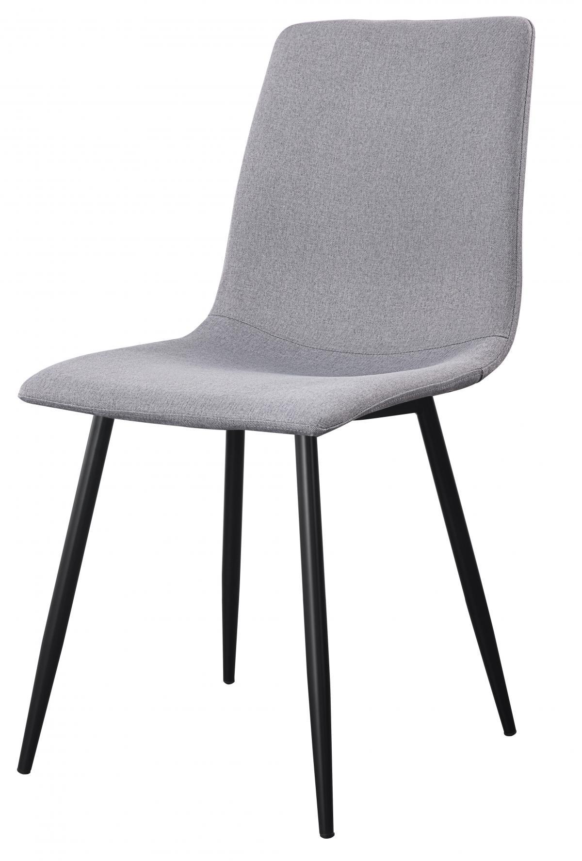 כסא לפינת אוכל דגם Madison בד אריג אפור