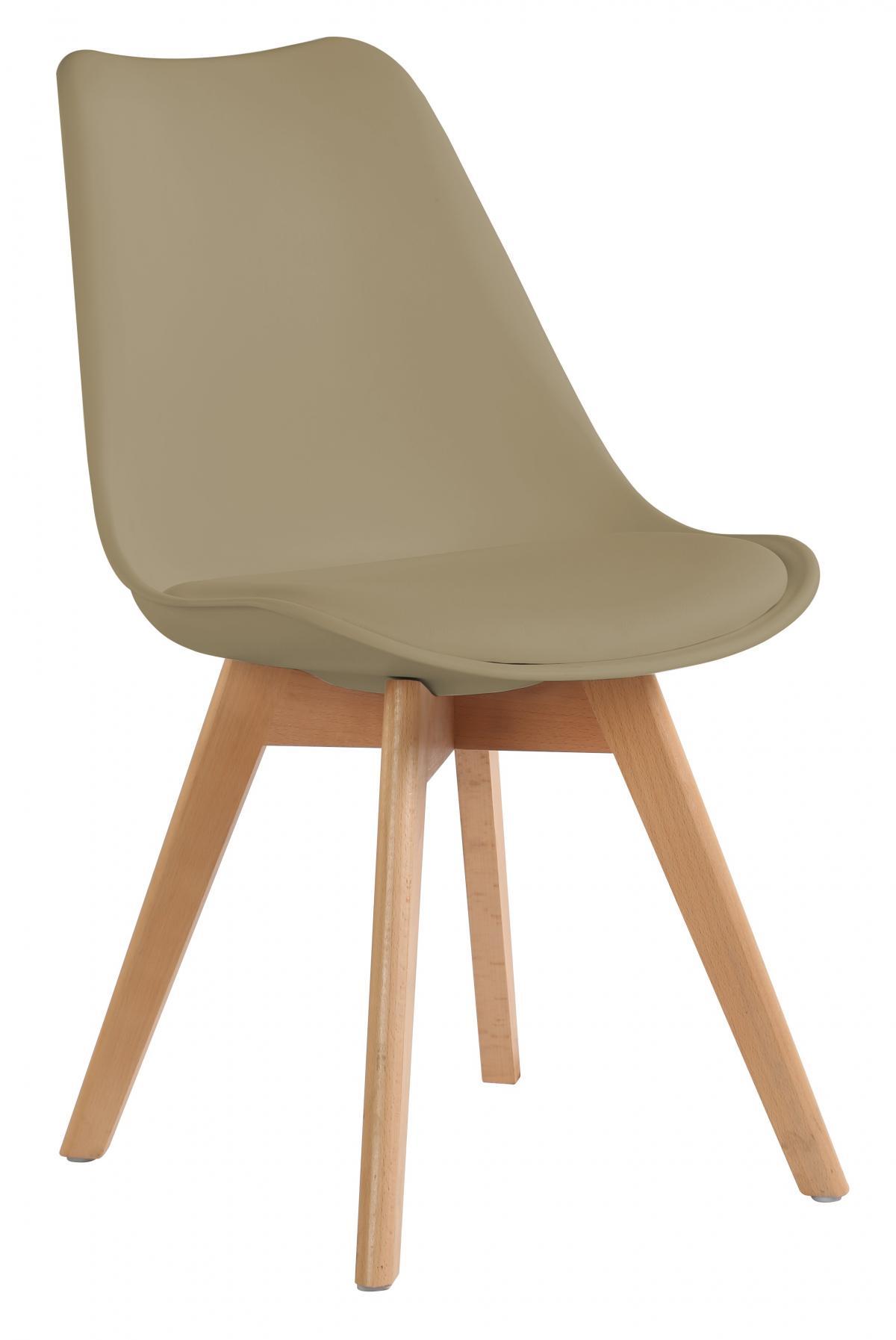 כיסא לפינת אוכל דגם TULIP בז'