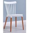 כיסא לפינת אוכל דגם BISTROT לבן
