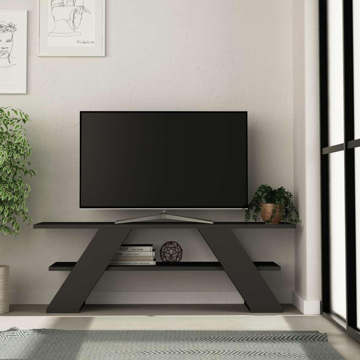 מזנון טלוויזיה Farfalla אפור 120ס