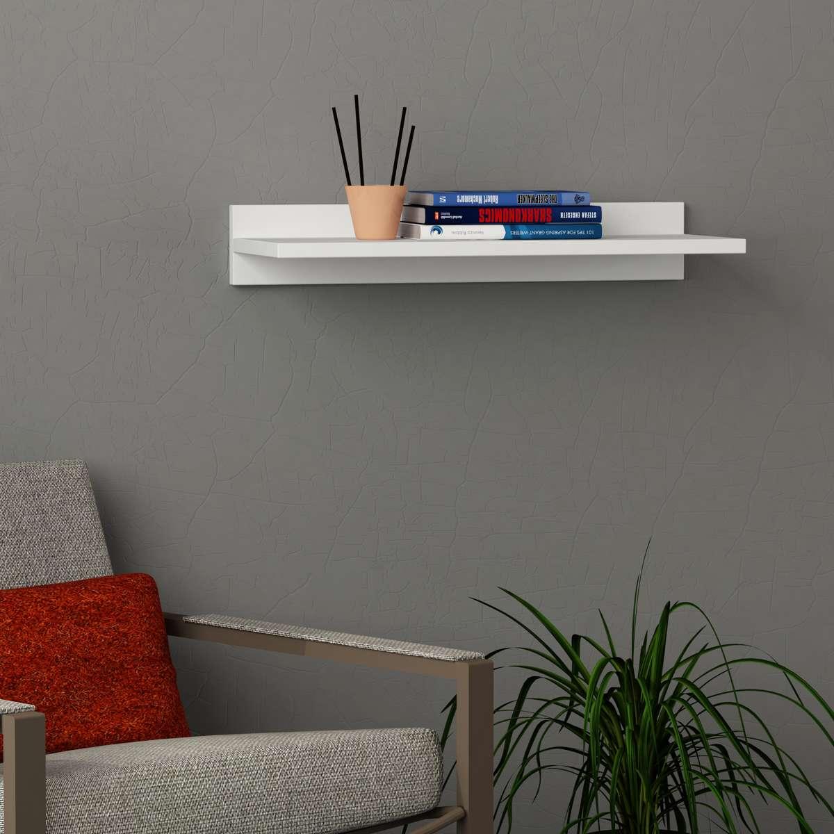 מדף Simple Shelf לבן מסדרת Decoline