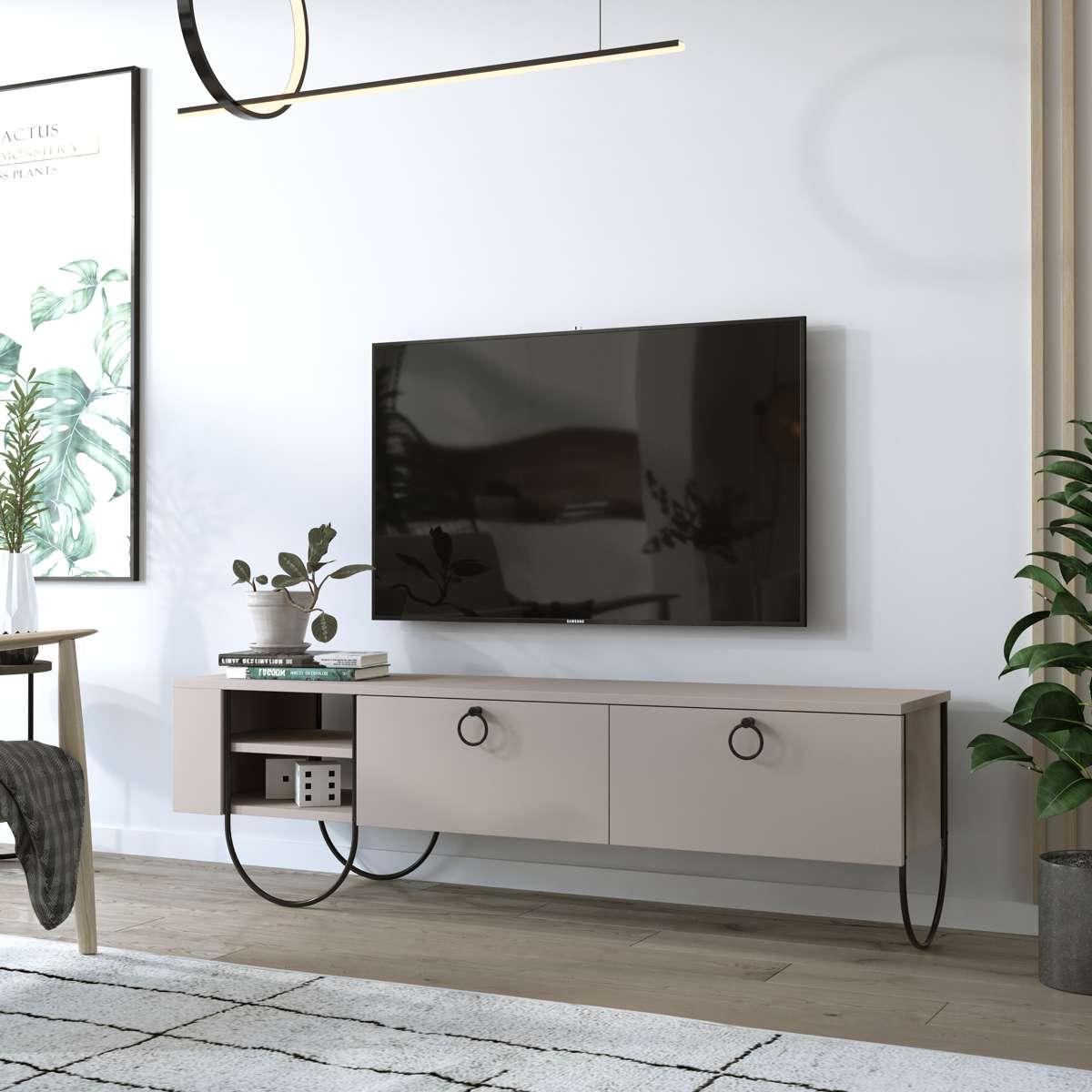 מזנון טלוויזיה Norfolk TV מוקה 151ס