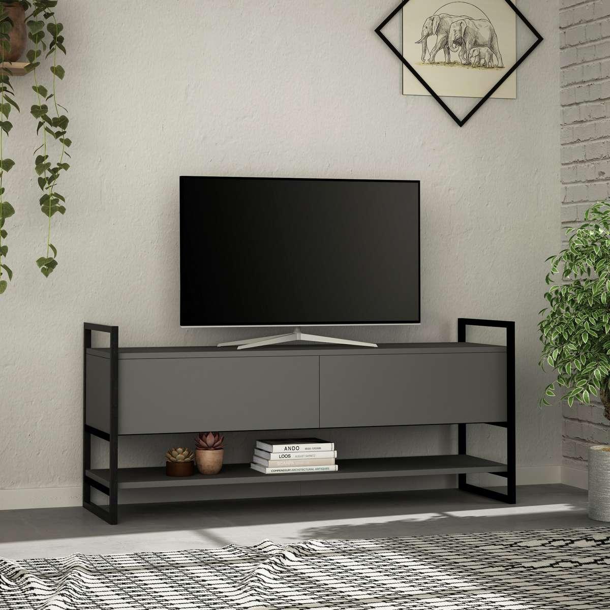 מזנון טלוויזיה Metola TV אפור 131ס