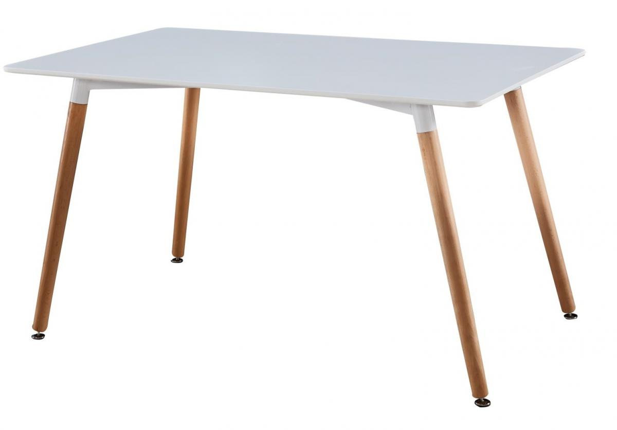 שולחן אוכל דגם Delphi לבן