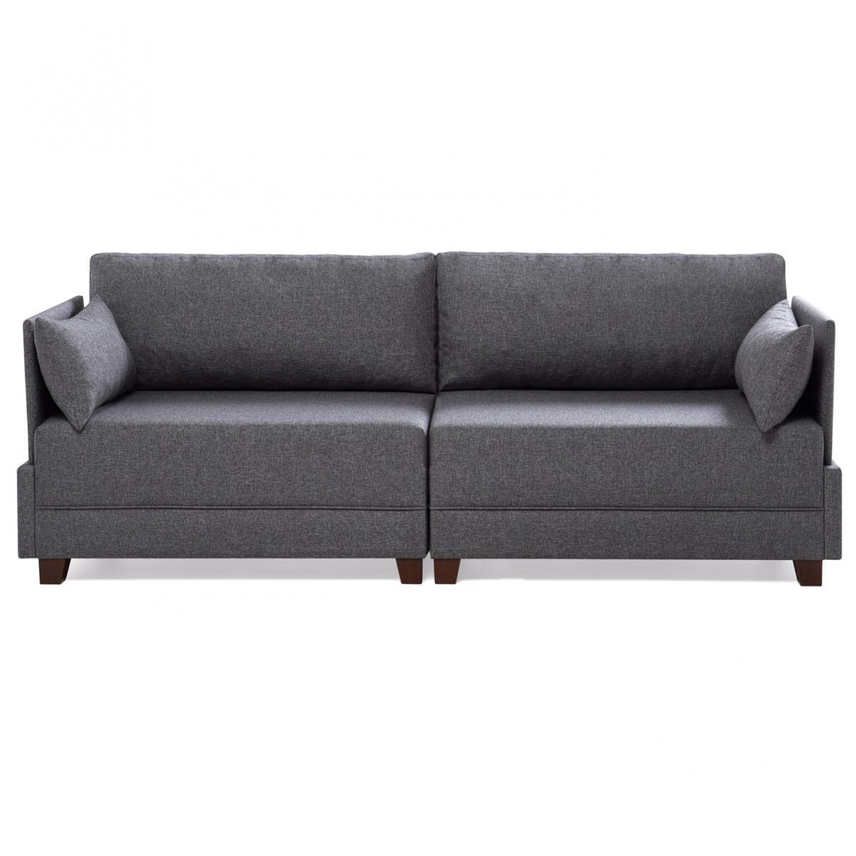 ספה תלת FLY אפור מסדרת Evdebiz