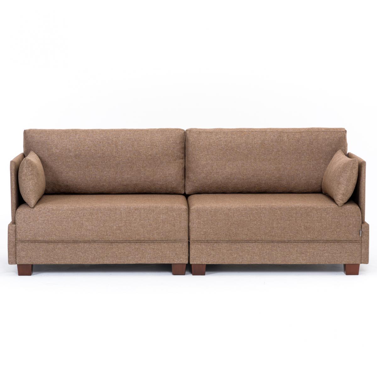 ספה תלת FLY חום מסדרת Evdebiz