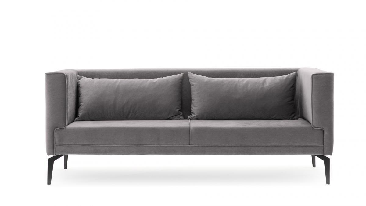 ספה תלת Ardosa אפור מסדרת Evdebiz