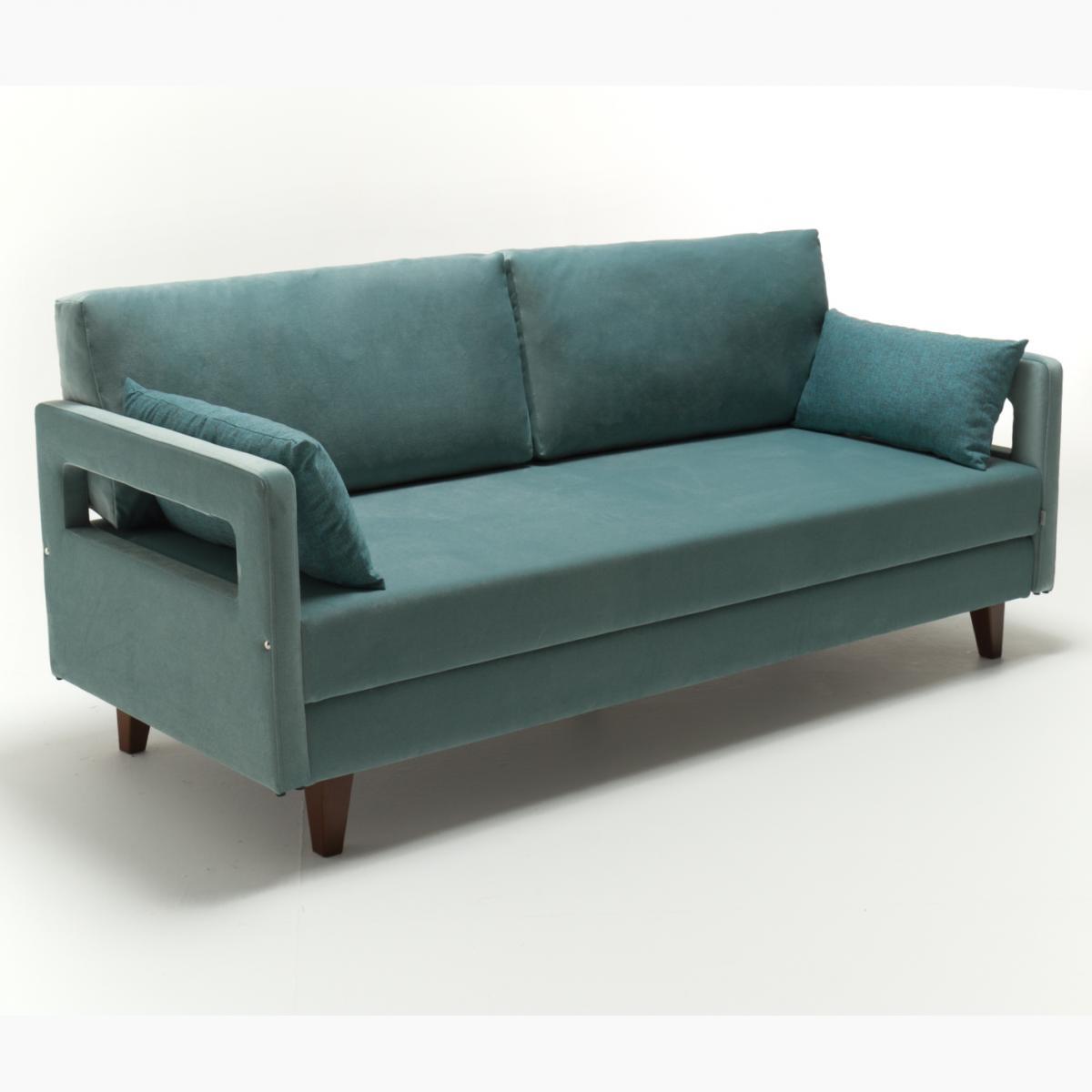 ספה תלת Comfort טורקיז מסדרת Mezza