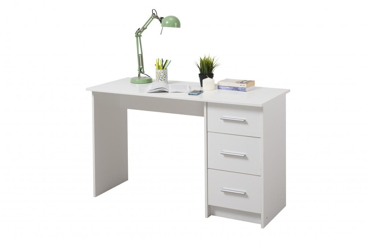 שולחן כתיבה Leo לבן מסדרת Forma