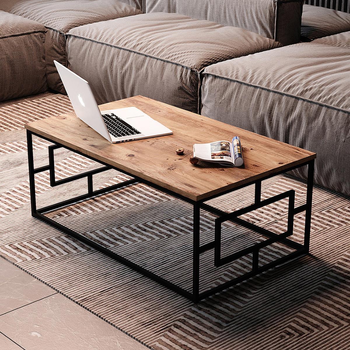 שולחן סלון VG12-A  אלון מסדרת Peyton