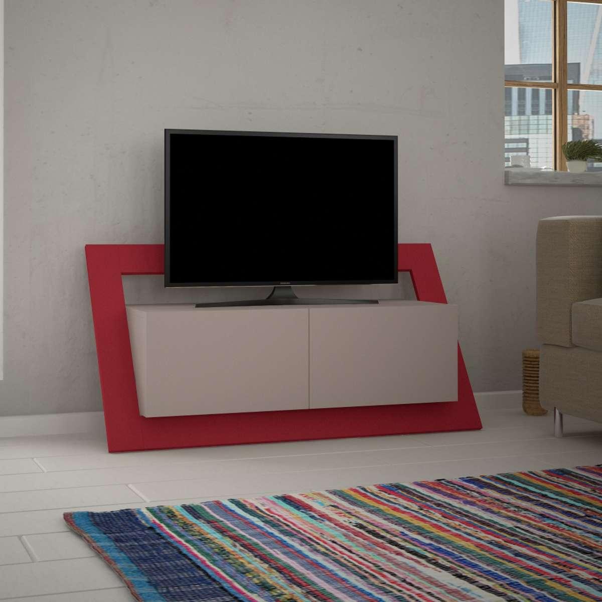 מזנון טלוויזיה Carnaby אדום 120 ס