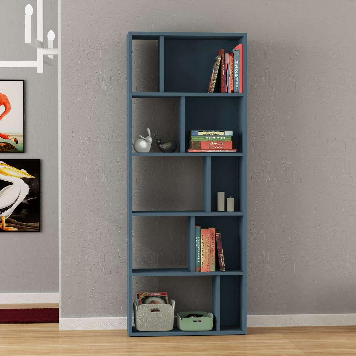 כוננית Onda Bookcase טורקיז מסדרת Decoline
